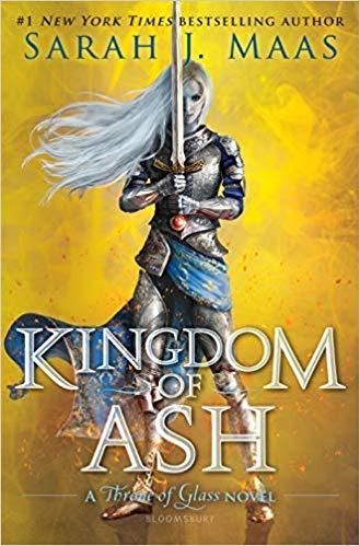 Sarah J. Maas AUTOGRAPHED Kingdom of Ash (SIGNED BOOK)