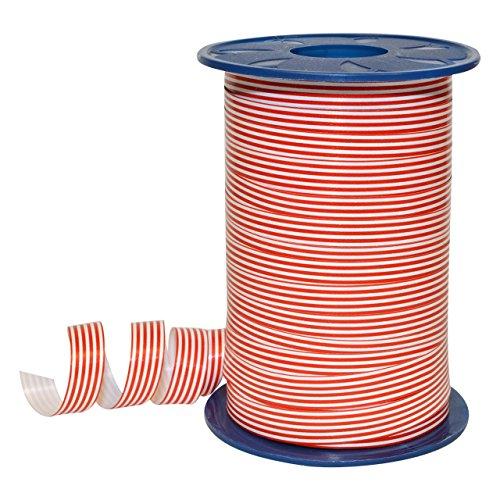 Morex Ribbon 380/9-609 Polypropylene Stripes Curling Ribbon, 3/8