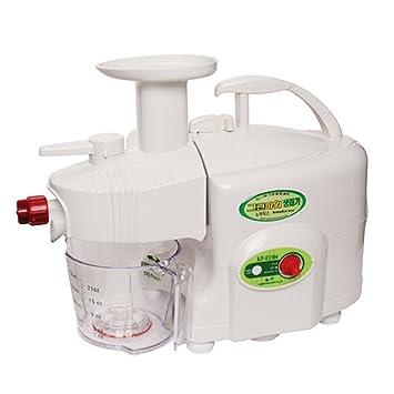 Exprimidor de fruta de doble engranaje Nomadics Standard Green Power kempo [KP-E1304] blanco: Amazon.es: Hogar