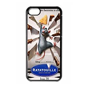 iPhone 5c Cell Phone Case Black Ratatouille Hard Phone Case For Girls CZOIEQWMXN18640