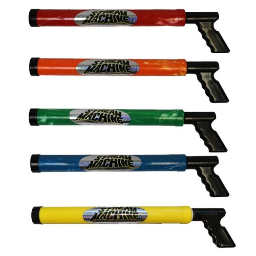 The Original Stream Machine Water Gun (One Pair) (Colors May Vary)