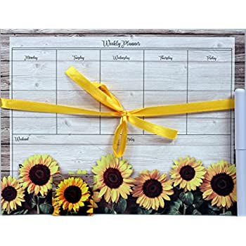 creative hobbies magnetic weekly calendar memo grocery list notepad set 52 sheets. Black Bedroom Furniture Sets. Home Design Ideas