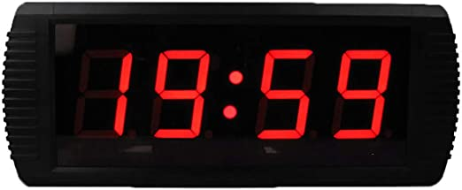 MYLEDI 3 Pulgadas Reloj Digital Pared Reloj Grande De La Pared del LED con Múltiples Alarmas Calendario Temperatura Luz De Noche Cuenta Regresiva Controlador Remoto Mesa para Salón Dormitorio Cocina: Amazon.es: Hogar