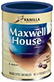 Maxwell House Vanilla Ground Coffee, 11-Ounce Cans (Pack of 12)