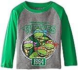 Nickelodeon Teenage Mutant Ninja Turtles Boys' Long Sleeve T-Shirt