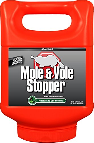 Messina Wildlife MV-G-005 Mole & Vole Stopper with Shaker Canister, 5 lb