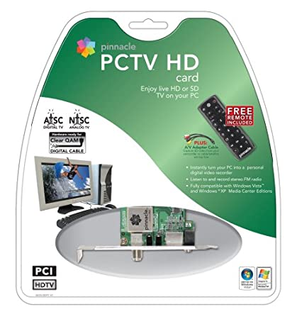 Pinnacle systems PCTV MediaCenter 100i Windows 7 64-BIT
