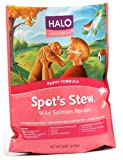 Halo Spot's Stew Natural Dry Dog Food, Puppy, Wild Salmon Recipe, 18-Pound Bag, My Pet Supplies