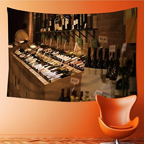 SOCOMIMI Mandala Tapestry Wall Tapestry Bohemian Wall Hanging depositphotos_115252022 stock photo bottles with wine in cellar Wall Art Wall Decor Beach Tapestry(59W x 51.1L INCH)