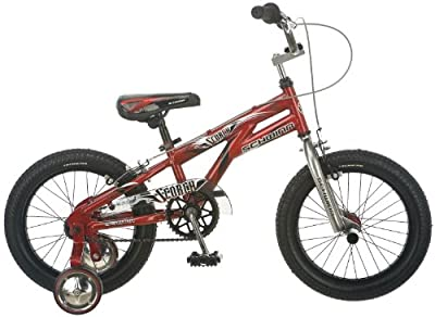 Schwinn Boy's Scorch Bike, Red, 16-Inch