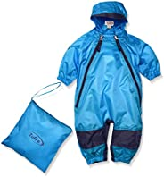 Tuffo Unisex Baby Infant Muddy Buddy Coverall, Blue, 3T