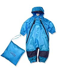Tuffo Unisex Baby Infant Muddy Buddy Coverall, Blue, 18 Months