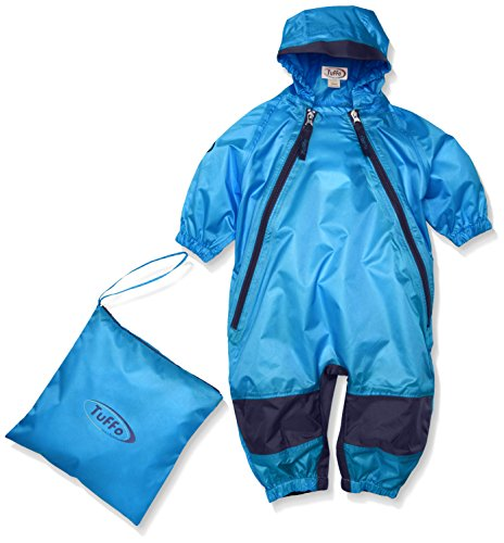 Tuffo Unisex-Baby Infant Muddy Buddy Coverall, Blue, 2T