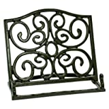 Anchor Hocking Cast Iron Cookbook Holder, Bronze