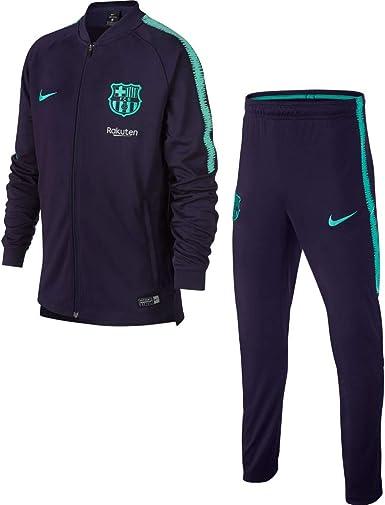 Nike FCB Y NK Dry Sqd TRK K Survêtement Unisexe