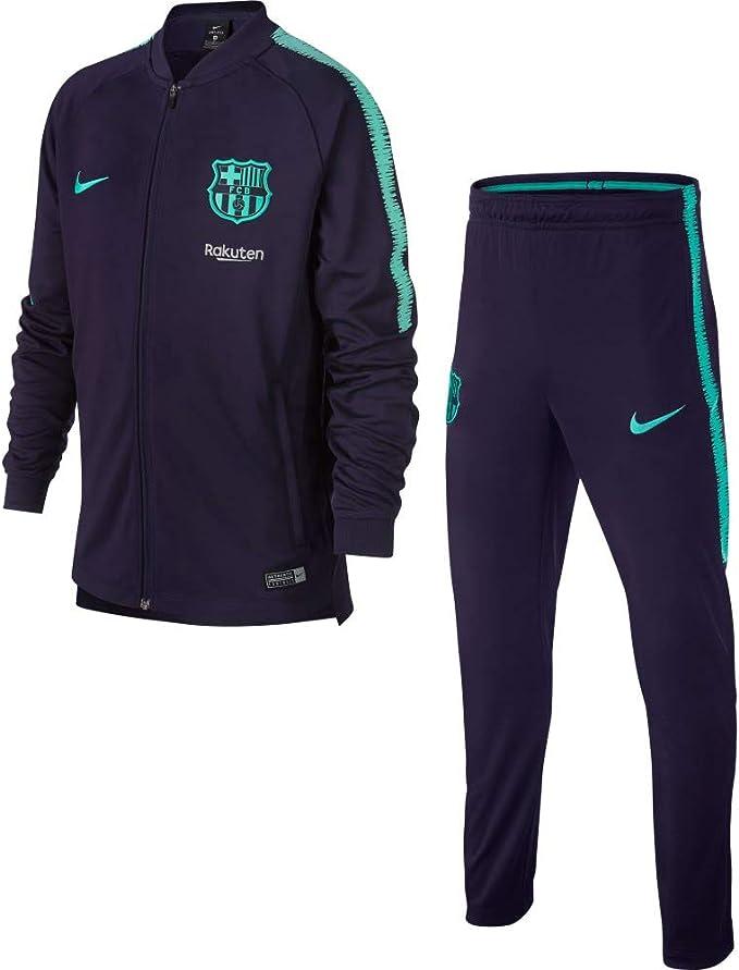 Desconocido Nike FCB Y Nk Dry Sqd K Chándal, Sin género: Amazon.es ...