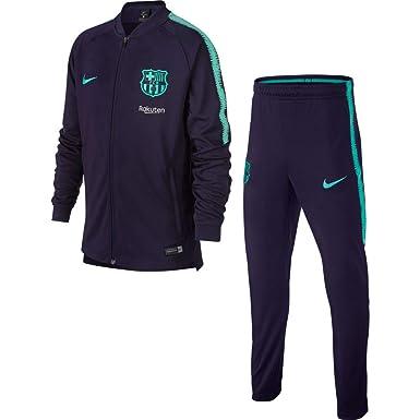 Nike FCB Y Nk Dry Sqd K Chándal, Sin género: Amazon.es: Deportes y ...