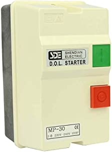 Big Horn 18839 3-Phase, 220-240-Volt, 10-HP, 22-34-Amp Magnetic Switch - UL Approved