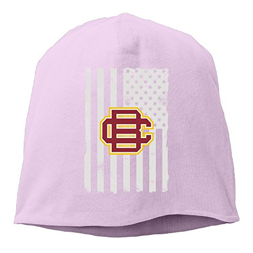YUVIA Bethune-Cookman University Men's&Women's Patch Beanie LeisurePink Caps Hats For Autumn And (Halloween Costume Stores San Jose)