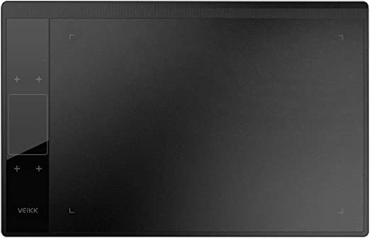 Tickas 描画タブレット、A30デジタルグラフィックス描画タブレット8192レベルの10 * 6インチペンタブレット左手/右手スマートジェスチャタッチ用パッシブペン4タッチキー