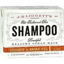 J.R. Liggett Bar Shampoo, Virgin Coconut Argan Oil