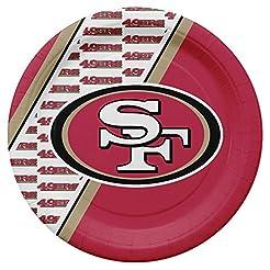 NFL San Francisco 49Ers Disposable Paper...