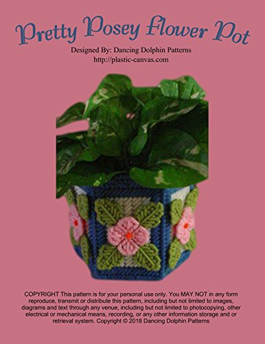 - Pretty Posey Flower Pot: Plastic Canvas Pattern