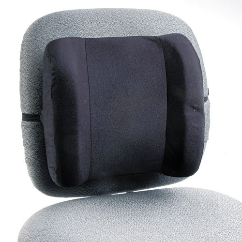 Safco - Remedease High Profile Backrest,123/4w x 4d x 13h, Black 71491 (DMi EA by Safco (Image #1)