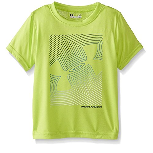 ec866c9d0 Image Unavailable. Image not available for. Color  Under Armour Little Boys   Linear Logo Short Sleeve Tee ...
