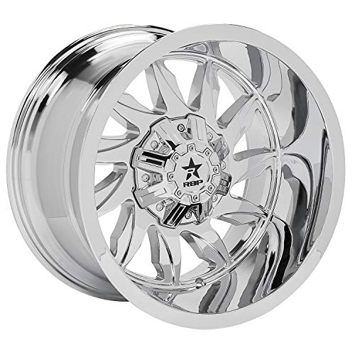RBP Silencer Wheel with Chrome Finish (20 x 12. inches /5 x 139 mm, -44 mm Offset)