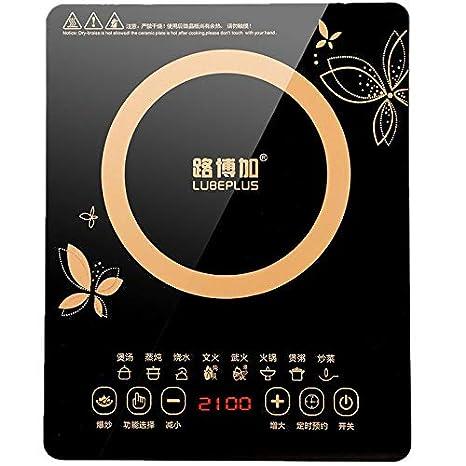 XIAOKUOAI Cocina de inducción doméstica mini olla caliente sabiduría energía estudiante estufa de la batería: Amazon.es: Hogar