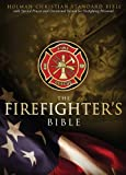 HCSB Firefighter's Bible, Red LeatherTouch