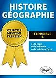 Histoire Géographie Terminale S