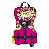 Ronix August Girl's Front Zip CGA Vest Toddler (Pink/Highlighter) Kid's Life Jacket