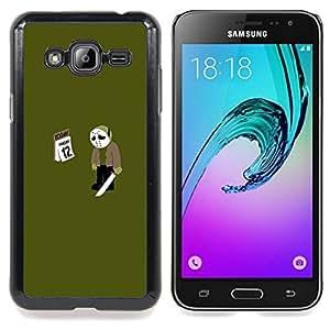 For Samsung Galaxy J3 - Friday 12 13 Jason - Funny Meme /Modelo de la piel protectora de la cubierta del caso/ - Super Marley Shop -