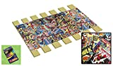 The Furniture Cove Custom Made in the U.S.A.! Youth/Toddler Size Comic Book Hero Themed Bed Slats Bunky Boards - Cut to the Width of Your Choice (29.50'' Wide) - FREE box of Crayons with Purchase