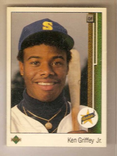 1989 Upper Deck 1 Ken Griffey Jr Seattle Mariners Rc Rookie Card