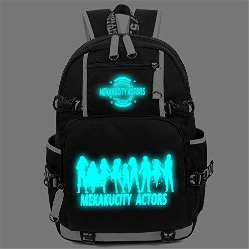 siawasey Japanische Anime Cosplay Laptop Schultasche Rucksack Schultertasche Schultasche Kagerou Project 1 8j5rNRC