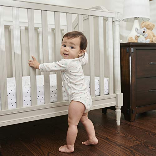Moonlight Luxury Dreamer Crib Mattress with Dual Surfaces. Airflow Sleep Surface on Firm Infant Side, Cooling Memory Foam on Toddler Side.