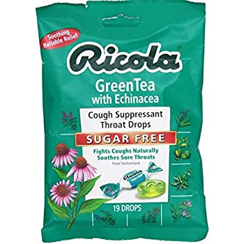 Echinacea Green Tea Lozenges 19 Count (Case of 12)