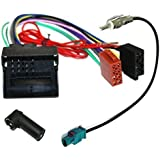 Aerzetix: Car Radio Kit Adapter: Cable Wiring and Aerial Antenna Adapters for Car Stereo