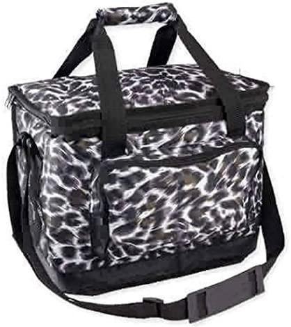 Uncle Jerry s T s Insulated Cooler Bag -Cheetah Print