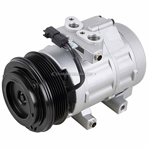 AC Compressor & A/C Clutch For Ford F-150 F-250 F-350 Super Duty Expedition Lincoln Navigator Mark LT - BuyAutoParts 60-02061NA New