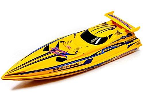 "AZ Trading & Import Btxc-Yellow 36"" 2.4G Speed-X Cyclone Racing Boat, Mix"