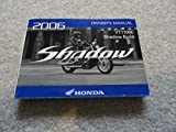 2006 Honda VT1100 C Shadow Spirit Owners Manual VT 1100