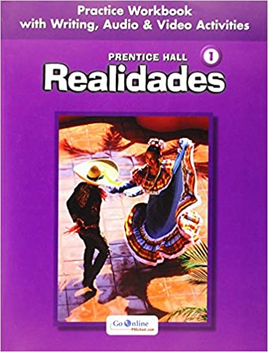 Amazon realidades level 1 practice workbook with writing amazon realidades level 1 practice workbook with writing audio video activities 9780131164635 pearson prentice hall books fandeluxe Choice Image