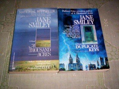 Jane Smiley - (Set of 2) - Not a Boxed Set (A Thousand Acres - 1992 / Duplicate Keys - 1993)