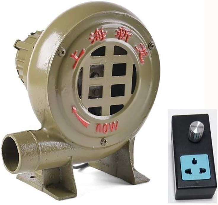 220V Ventilador Centrífugo Ventilador Eléctrico Doméstico Pequeño Ventilador Centrífugo De Alta Potencia Soplador De Combustión De Barbacoa Cable De 1.8m + Gobernador: Amazon.es: Hogar