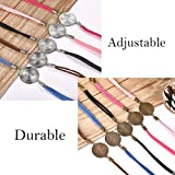 DROLE 40Pcs Bracelet Bezel Blanks Settings for
