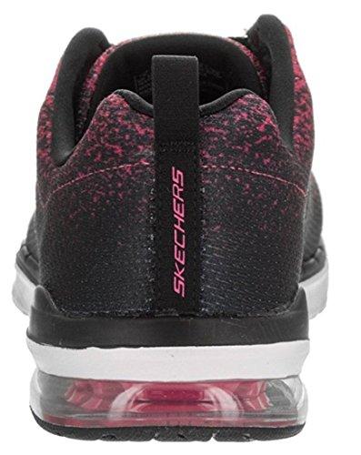 Skechers Skech Air Infinity Rose Noir Femmes Formateurs Chaussures